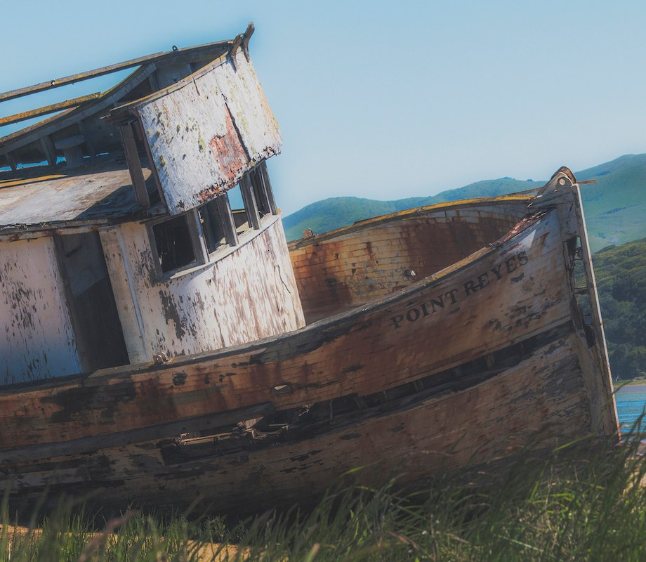 Title: Point Reyes Shipwreck Medium: Photography Size: 16x20