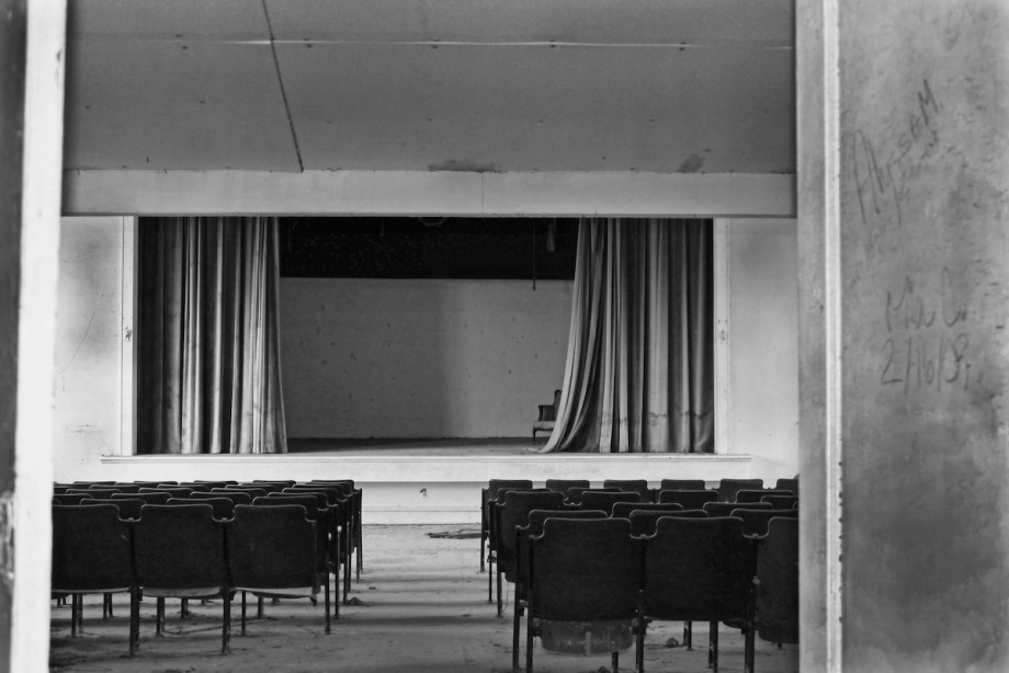 """Title:Missing Audience, Part 1 Medium:Photography Size:12""""x18"""""""