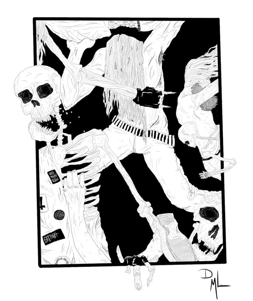 Title:Skeletal Mosh Medium:Digital Size:1684x2000