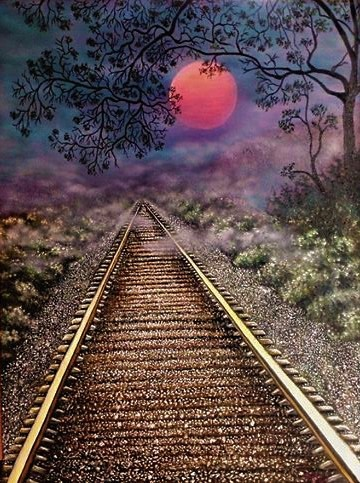 """Title:Going Home Medium:oil Size:18""""W x 24""""H"""