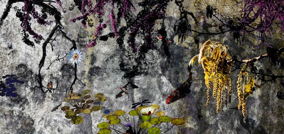 Title:eves garden Medium:digital/photography Size:8.5x17