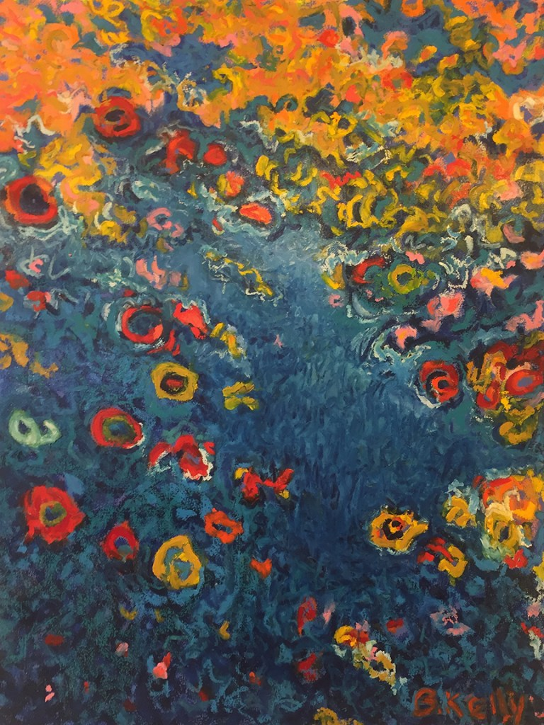 """Title:Spring Waters Medium:Oil on canvas Size:40' X 30"""""""