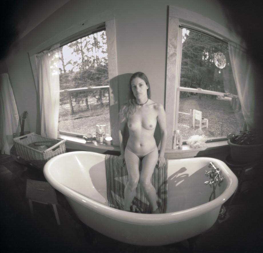 "Title Fey_W_03-26-17--08AC Medium pinhole camera - archival pigment print- photography Size H 19.61"" x W 20.00"