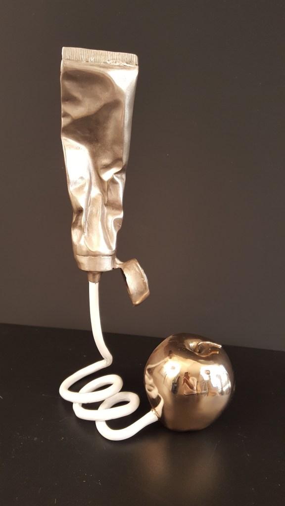 Title Doctor's Orders! Medium bronze Size 12x6x5