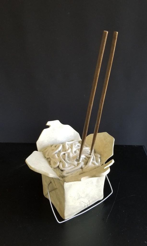 Title Add student & Stir! Medium bronze Size 12x6x7