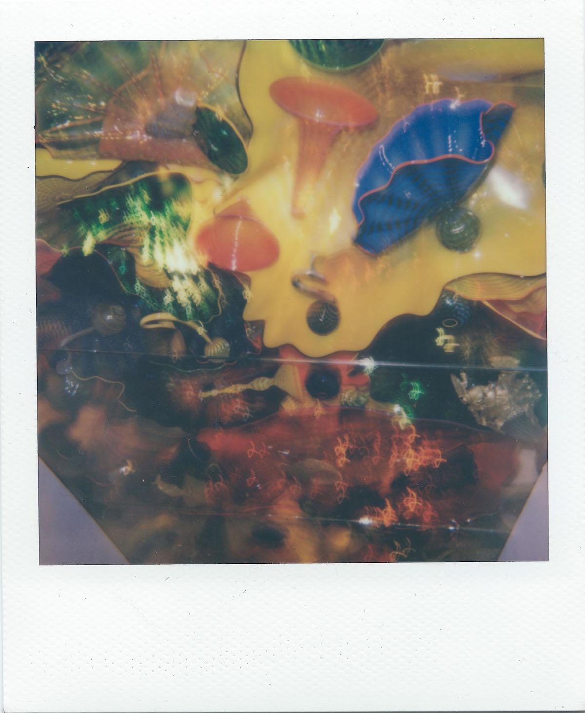 "Title Glass Reflector Medium Polaroid Size 3.5 x 4.2"""