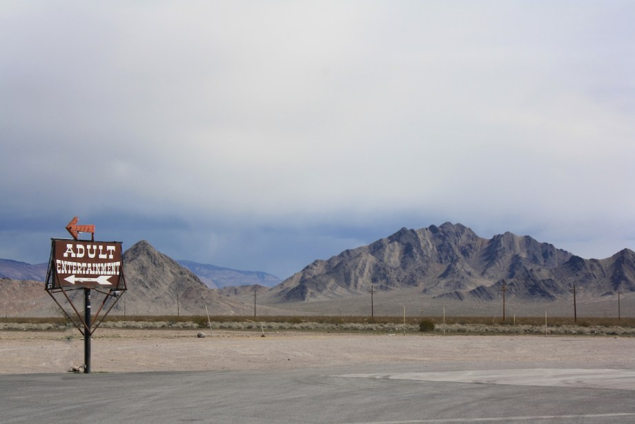 "Title Adult Entertainment / A Desert Oasis Medium photography Size 18"" x 24"""