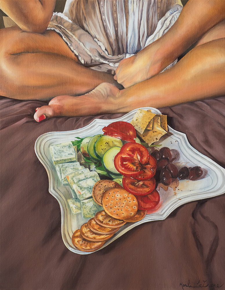 Title Snack Medium Oil Size 11in x 14in