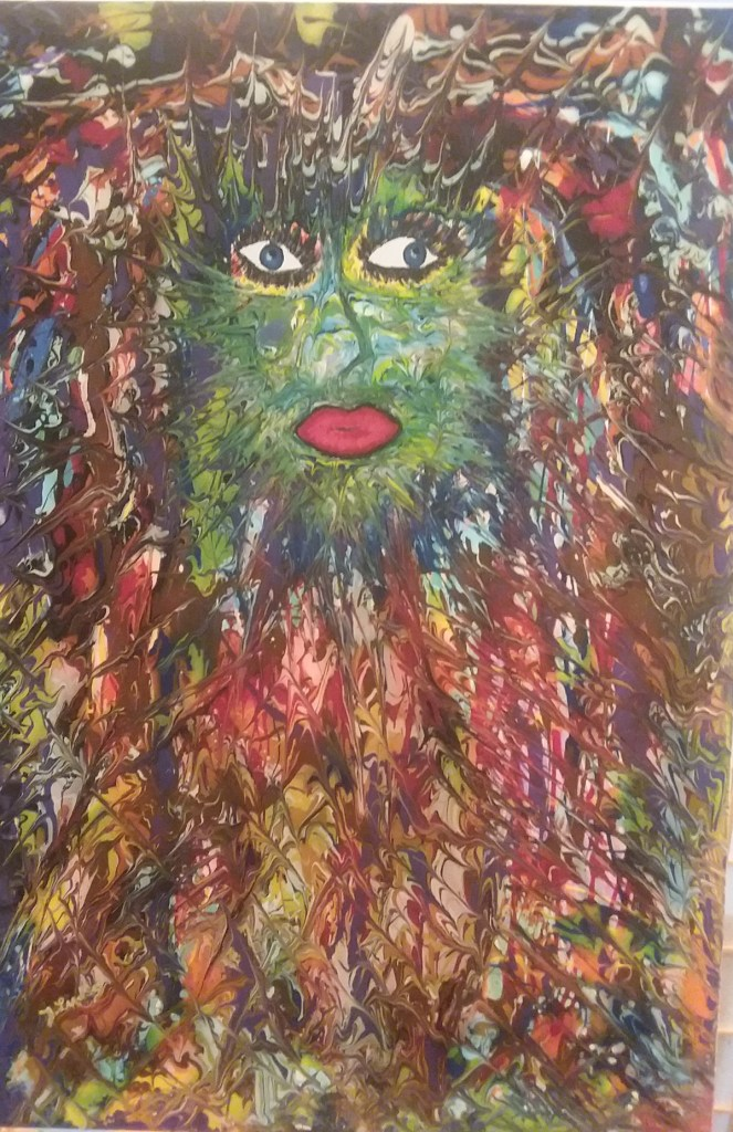 Title Awakened Medium Acrylic Size 24×36