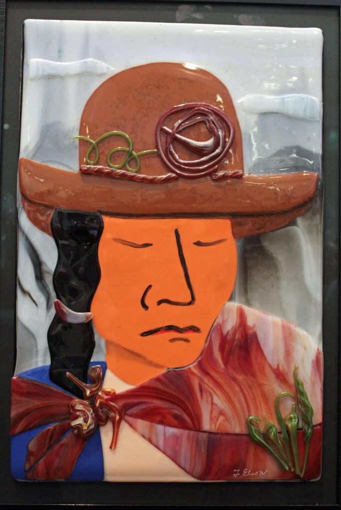 Title BONITA Medium Fused Glass Size 16 x 20