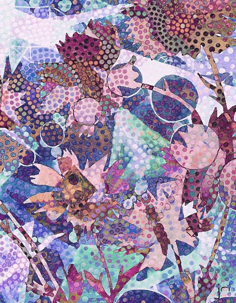 Title Foliage Medium Digital Size 9X12