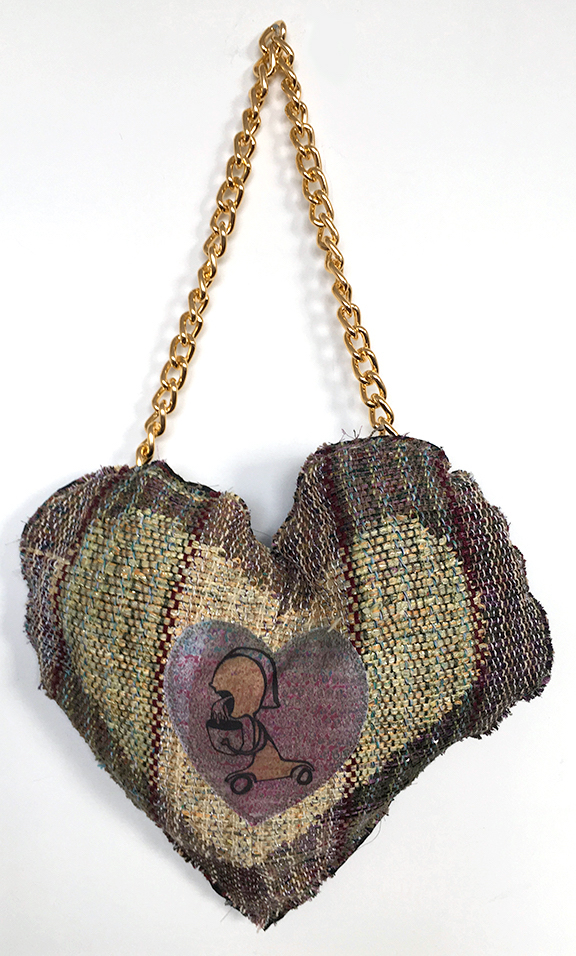"Title Love Sick Medium Fiber Size 17"" x 13"""