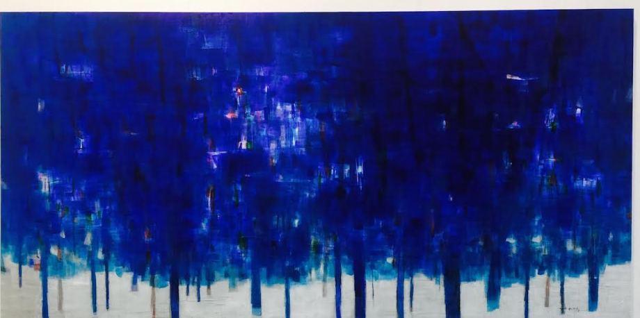 Title The Forest 2016 Medium Acrylic on canvas Size 150 cm x 300 cm