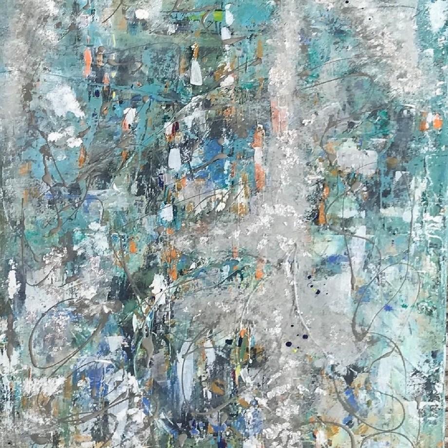 Title C1#10 Medium Acrylic on canvas Size 80x100cm