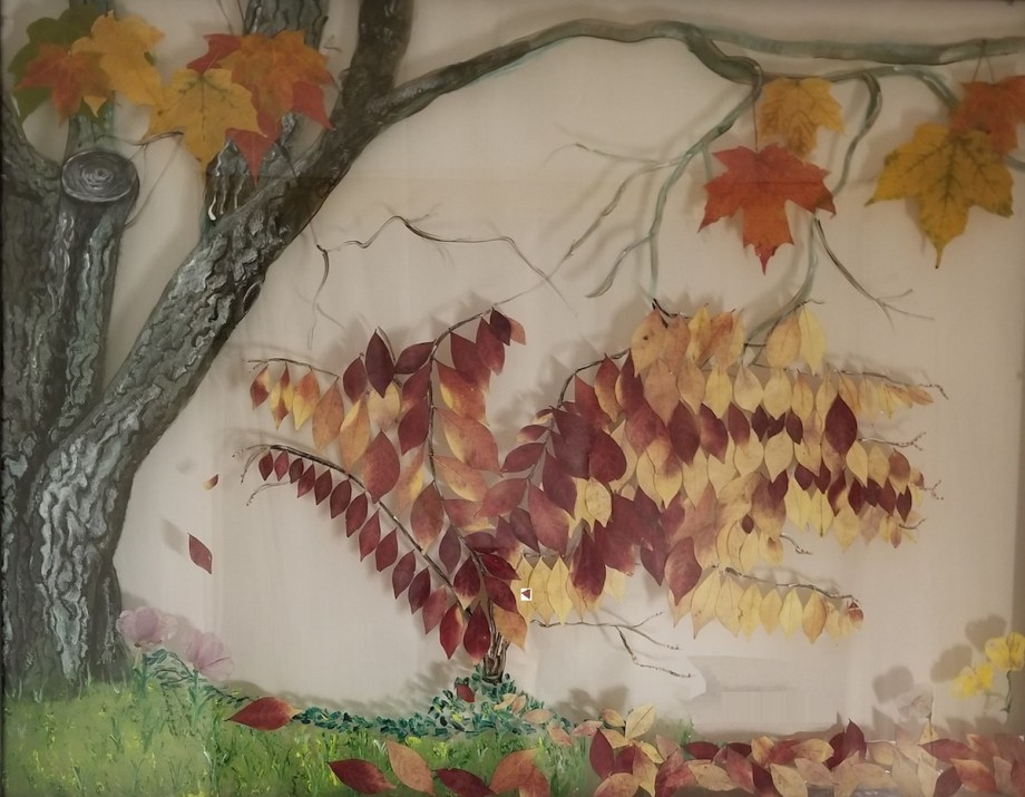 Title The burning bush Medium Mixed Media Size 22x28