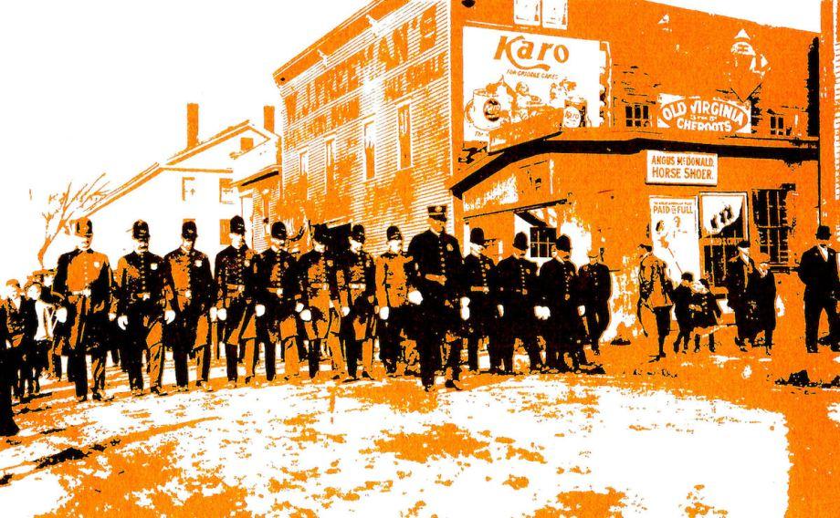 "Title Manchester Police Medium Seragraph Size 8 1/2"" X 11"""