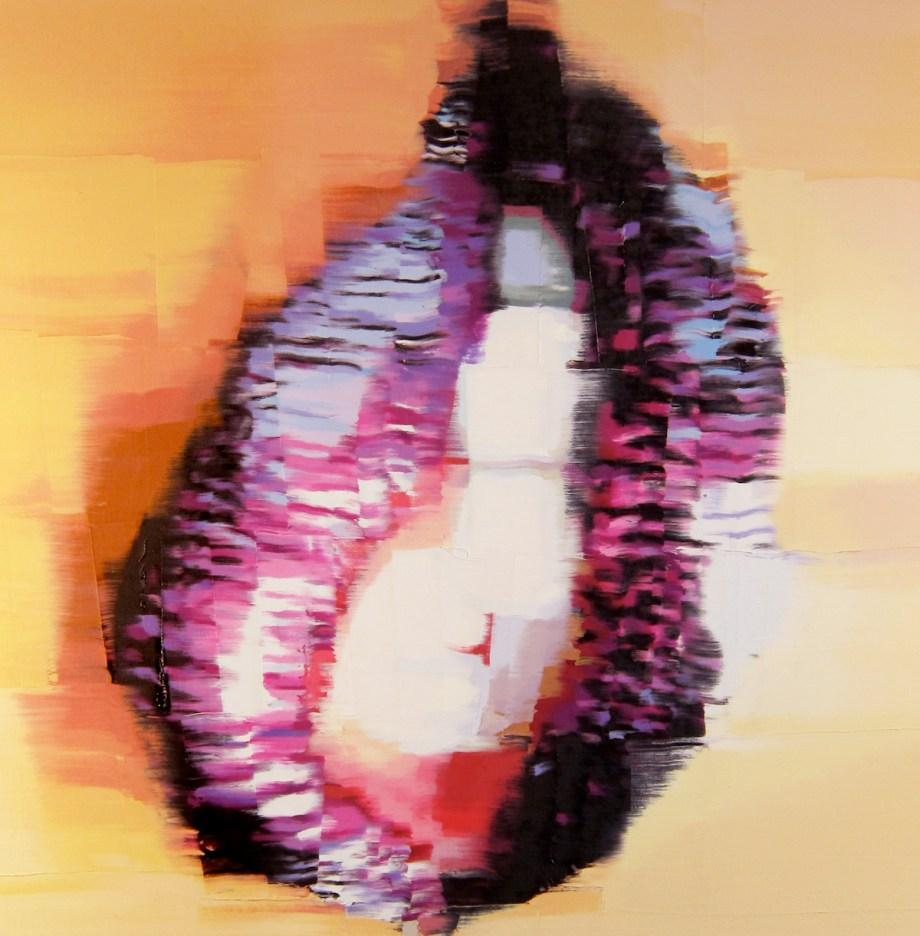 Title Passion Flower Medium Oil on canvas Size 19 x 19
