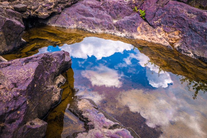 Title Clouds under Arch Medium Photography Size 14 x 21 inches