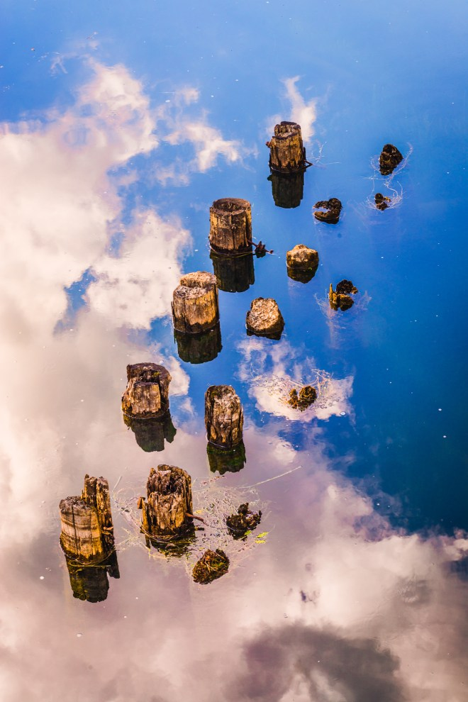 Title Pillars in the Sky Medium Photography Size 21 x 14 inches