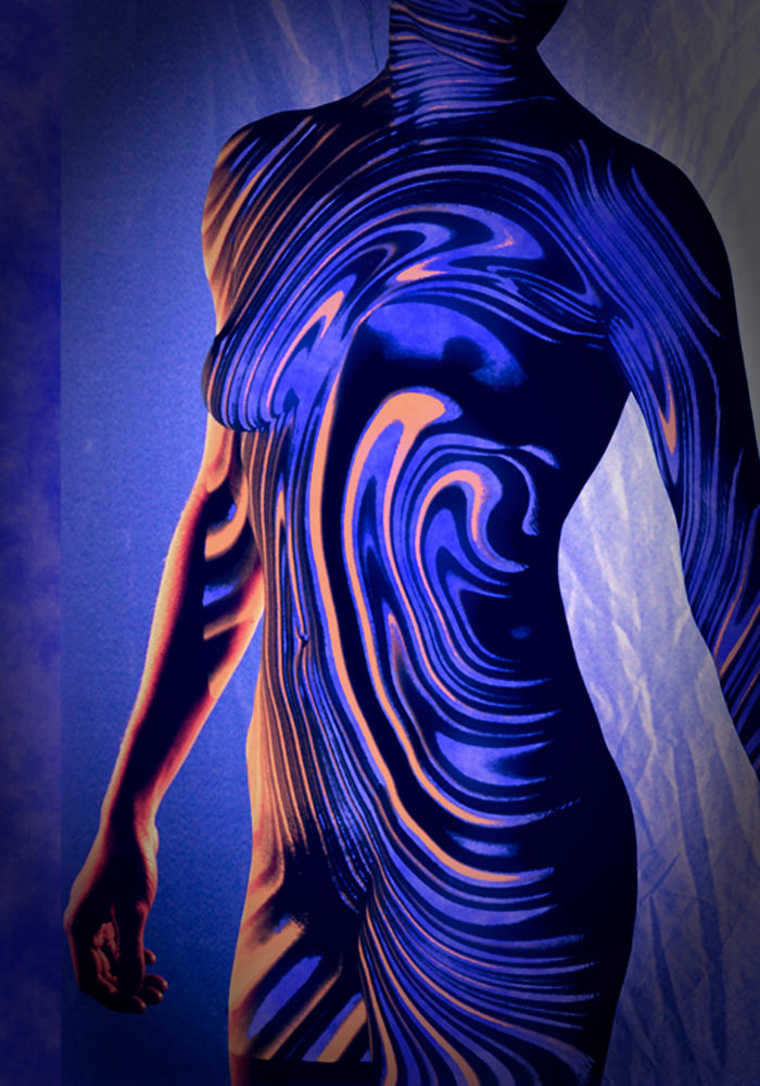 """Title """"BLUE NAIAD Medium Photography Size 13"""" by 19"""""""