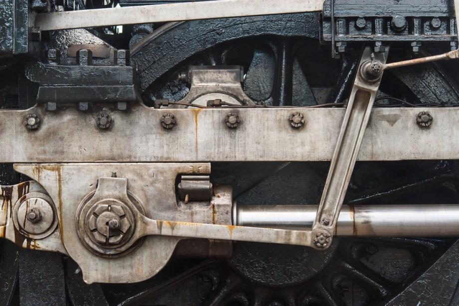 Title Iron and Steel No. 1 Medium Photograph on Aluminum Size 16x24
