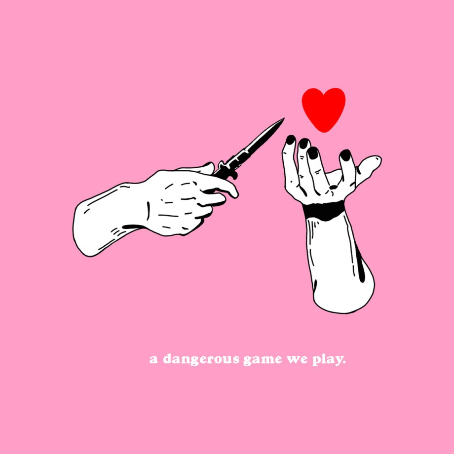 Title a dangerous game we play Medium photoshop Size 16x16