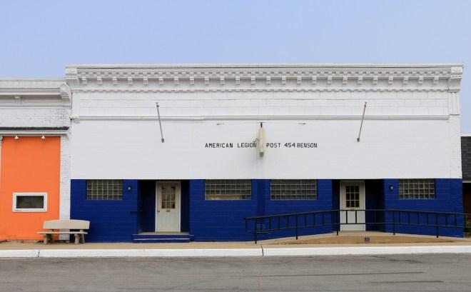 "Title American Legion, Benson, 2015 Medium Photography Size 7.4""x12"""