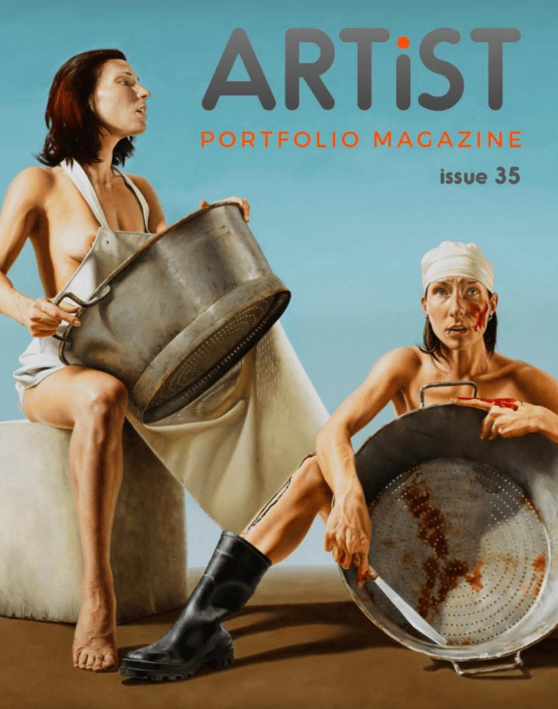 Artist Portfolio Magazine issue 35
