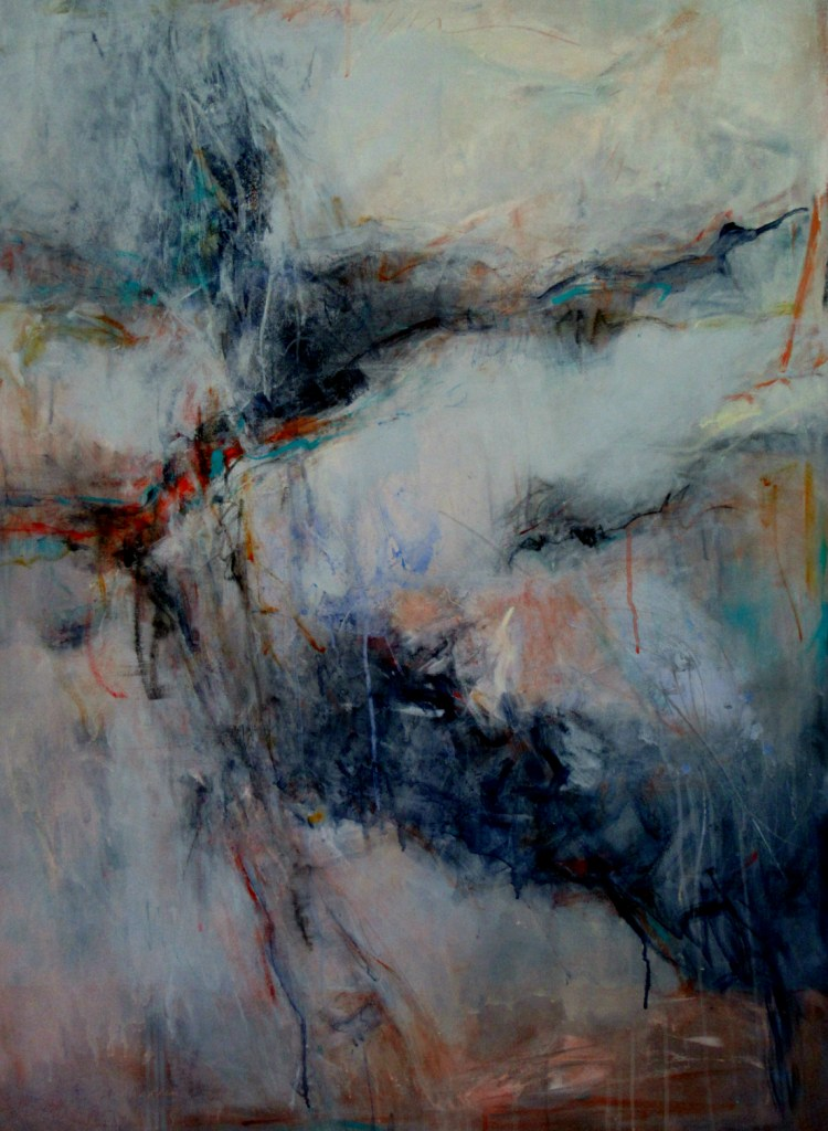 """Title Hide and Seek Medium Acrylic on canvas Size 48""""x36"""""""