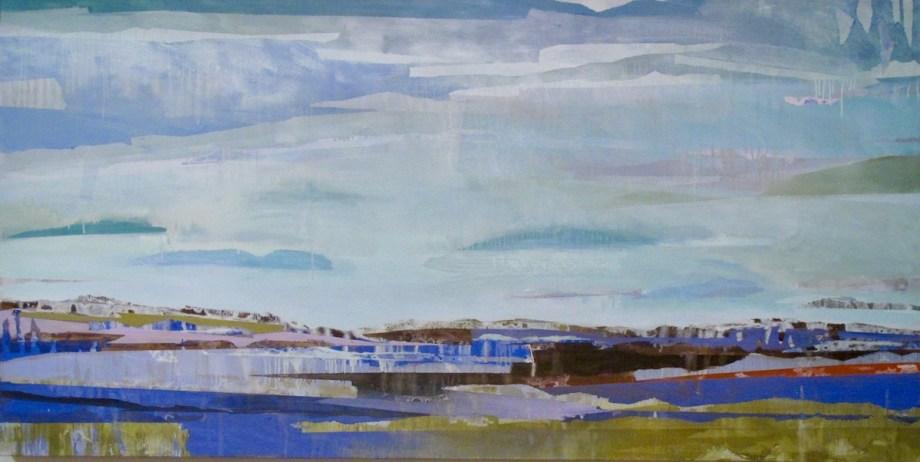 Title Purlieu Medium Oil on canvas Size 36x72