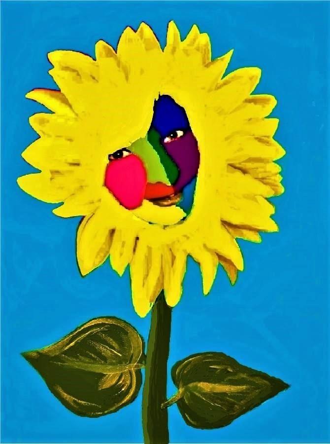 Roos Medium acrylic on canvas Size 12x16