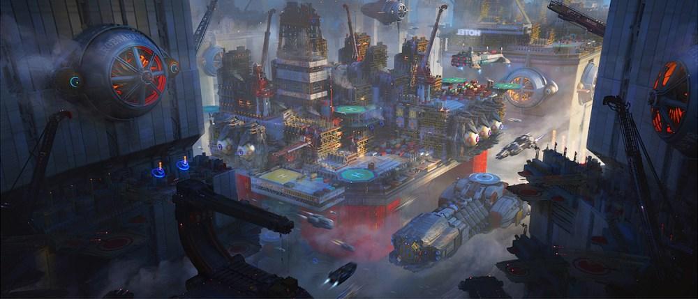 City Rig System Medium Digital Art Size 1500×643
