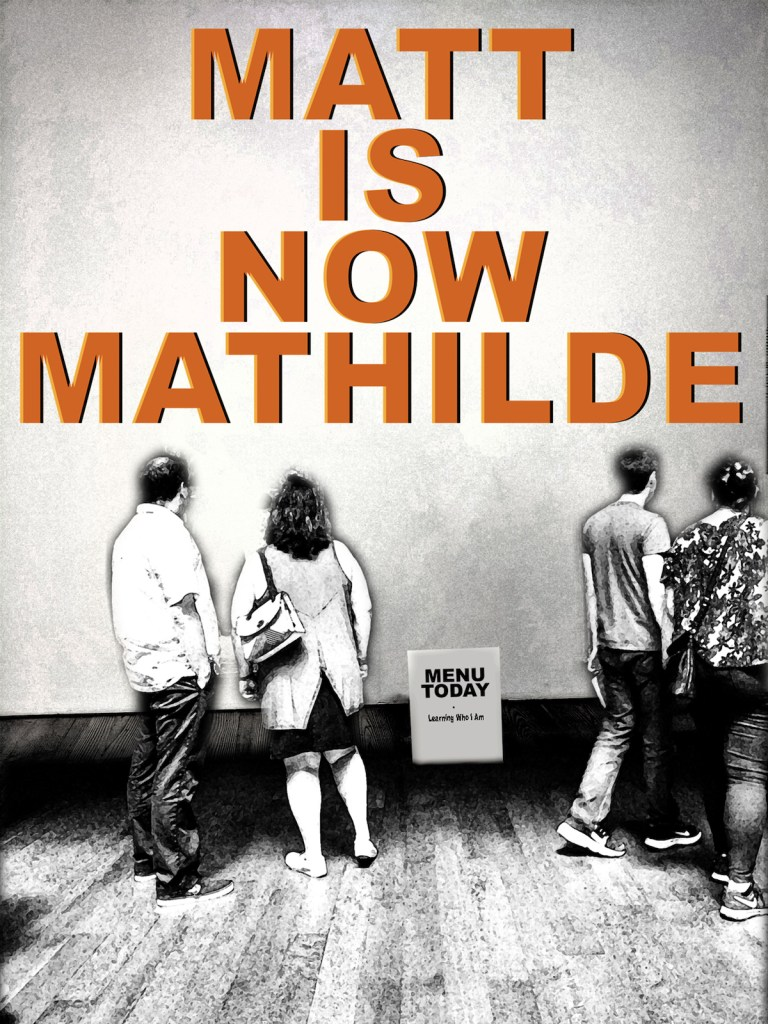 "Matt Is Now Mathilde Medium Archival Pigment Print Size 25""(h) x 18.75""(w)"