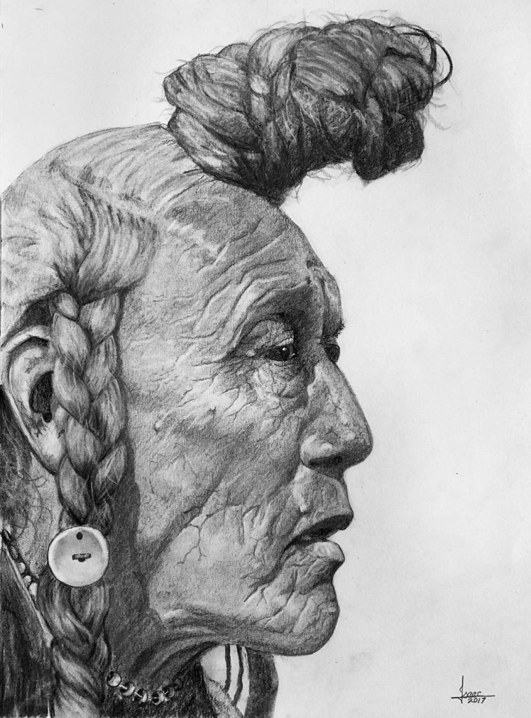 CHIEF BEAR BULL Medium GRAPHITE/CHARCOAL Size 16X20.5