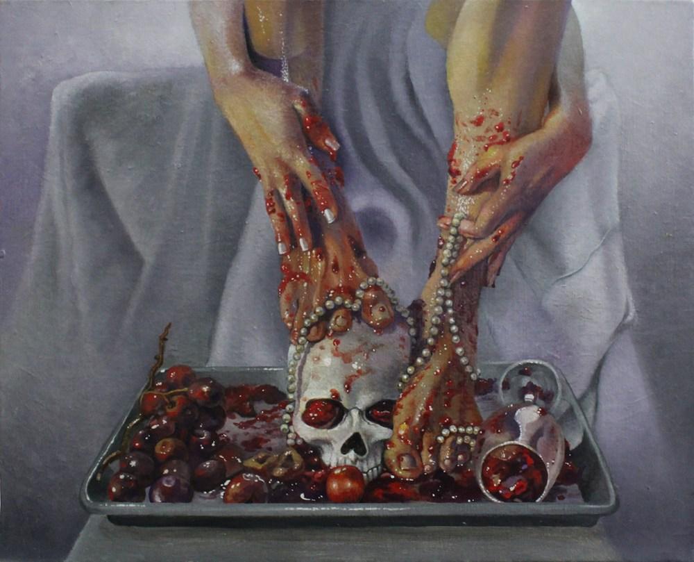 MY Temptress   oil on canvas board   16x20