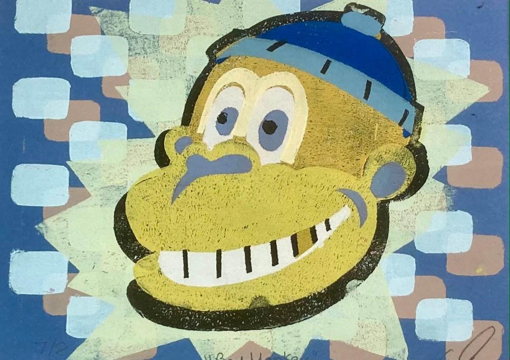 Bad Monkey | Print on Paper | 9x12