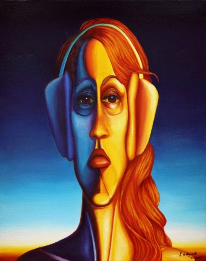 """A Hard Night of Paining    Oil on Canvas   24"""" x 36"""""""