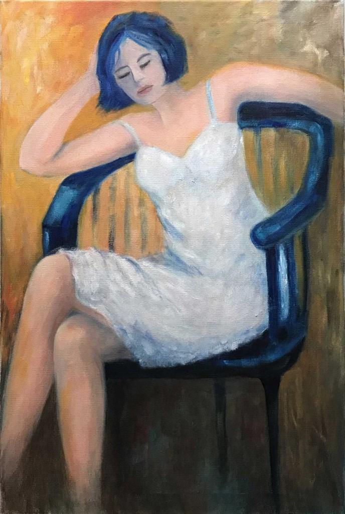 "Solitude | Oil on canvas | 30""x20"""