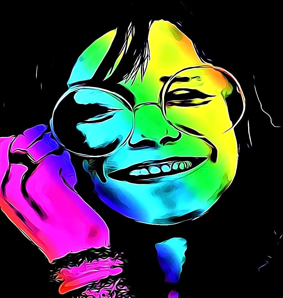 Janis | acrylic | 18x18