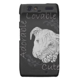 Chalk Drawing of Pitbull on Phone Case http://www.zazzle.com/chalk_drawing_of_adorable_pitbull_case-179306559589896975