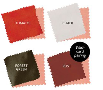 What to wear with shell - color guide