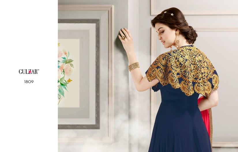 Gulzar Designer Salwar Kameez 1809 Back Side
