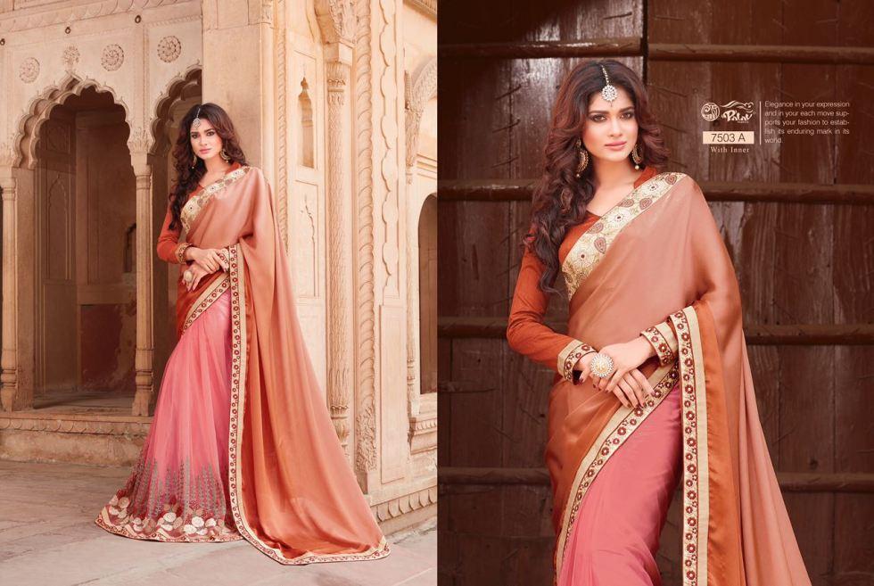 Palav Fabric Designer Saree PP7503A