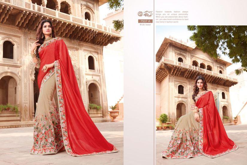 Palav Fabric Designer Saree PP7507A