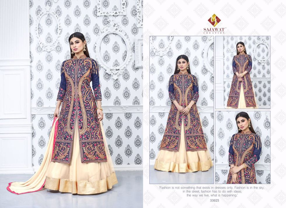 Sajawat Nagin Vol 3 Designer Suits 33025