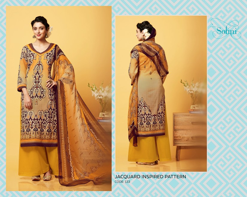 Kimora Sohni 3 Cotton Churidar Suits