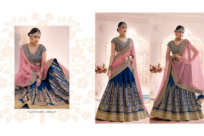 Nakkashi Ethnic v2 Lehenga Saree 5083 | Brides Wear