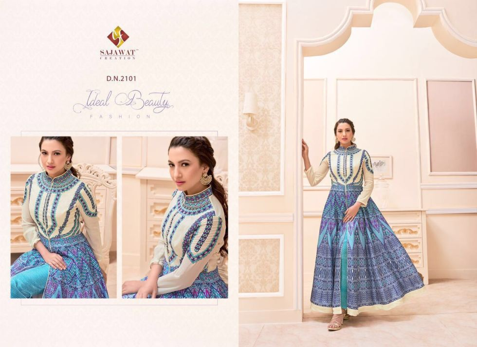 Gauhar vol 1 Floor length Salwar Kameez 2101
