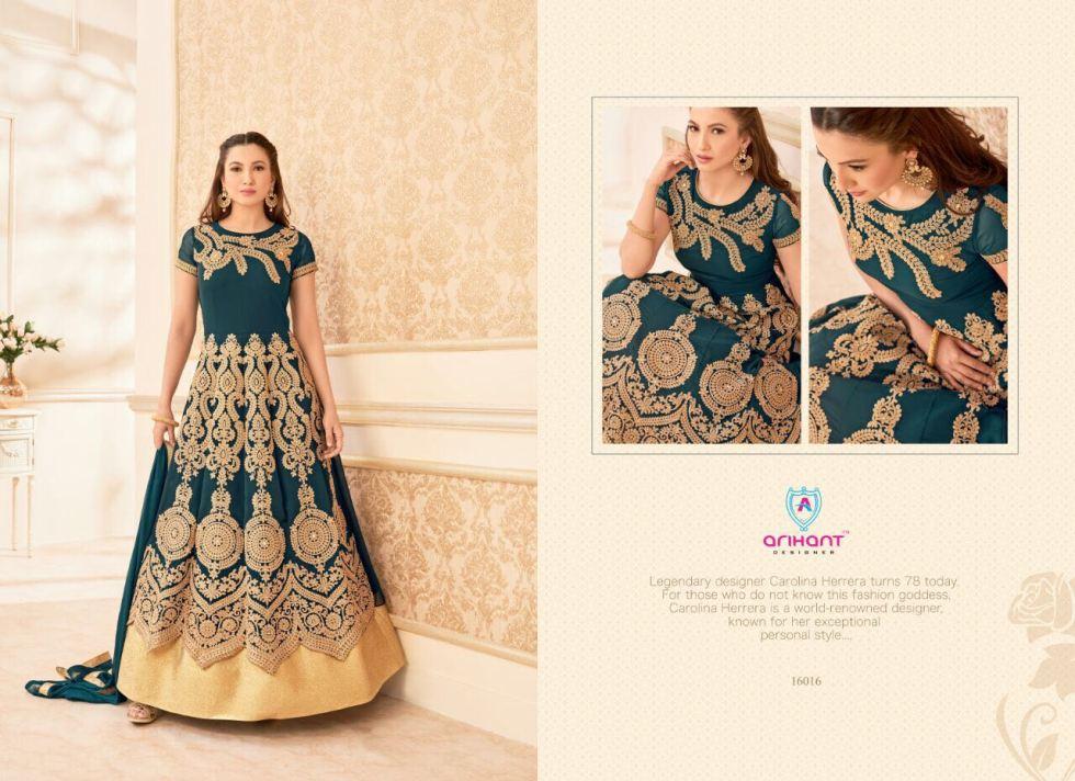 Hamim vol 7nx Floor length Salwar Kameez by Arihant Designer 16016