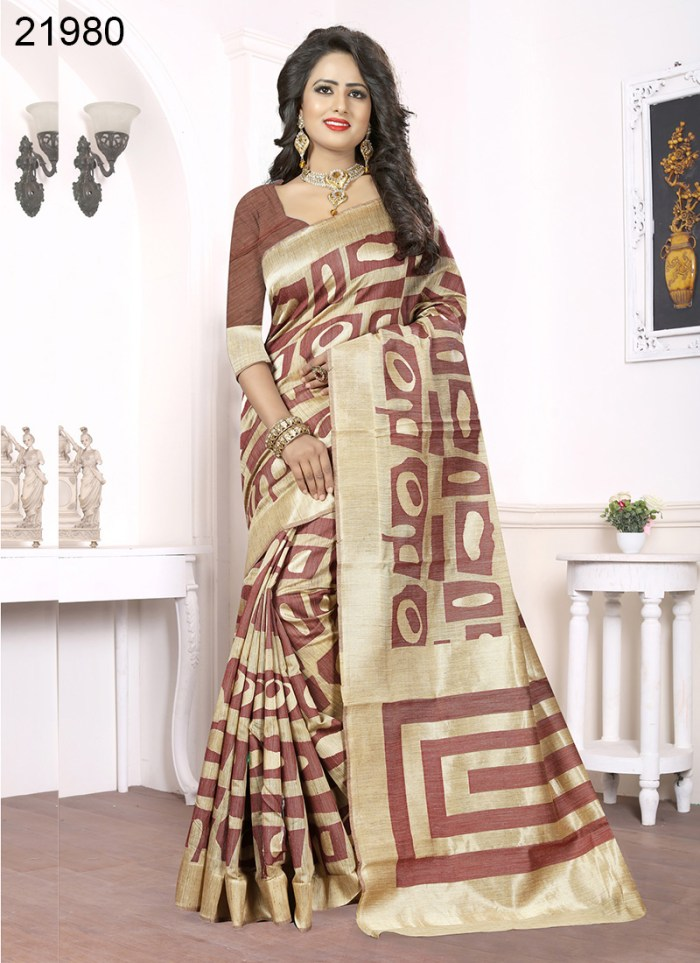 Banarasi Silk Narissa 21980 | Occassional Wear for Ladies